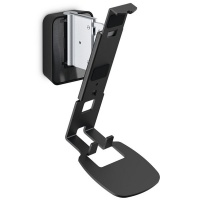vogels speaker wall mount for sonos one and play 1 black audio accessory