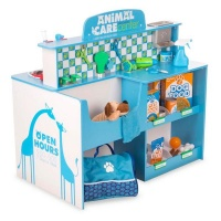 animals care activity centre and accessories pretend play