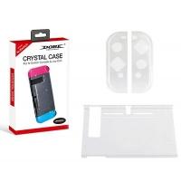 dobe 4 in 1 protective case tempered glass for nintendo case