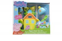peppa pig house tea set dollhouse doll