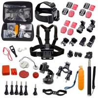 action mounts 19 in 1 gopro hero accessory kit kit