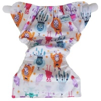 bamboo baby newborn nappy hook and loop cover nappy changing