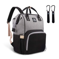 hafmall nappy waterproof bag large capacity insulation backpack