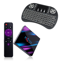 ntech h96 max 4k android 9tv box with i8 mini keyboard 2 audio video software
