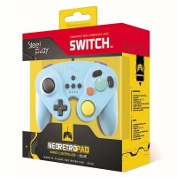 steelplay wired neo retro pad blue switch