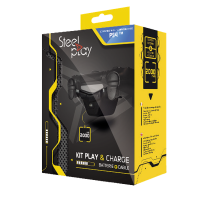 steelplay playcharge kit powerbank cable ps4