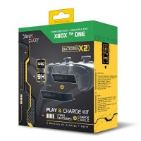 steelplay playcharge kit twin batteries cable xone