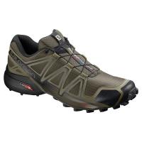 salomon speedcross 4 mens trail running shoes black and