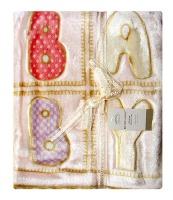 mothers choice mink cutwork baby blanket pink blanket