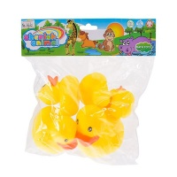 assorted character ducks pack of 5 water toy