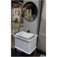 linea infinity round 650mm diameter bathroom and dcor led mirror