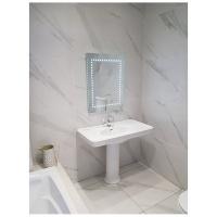 linea zero led bathroom mirror with ir sensor 60x80 mirror