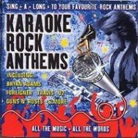 karaoke rock anthems import cd karaoke