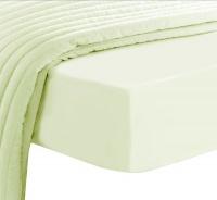 pizuna 100 long staple cotton fitted sheet ivory double mattress