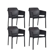 breeze arm chairs set of 4 chair