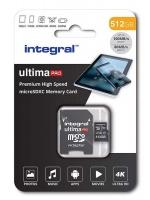 integral ultimapro micro sdxc v30 uhs i u3 512gb camera accessory
