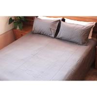 lush living duvet cover set medium grey cotton 200tc queen duvet cover