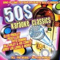 fifties karaoke classic import cd karaoke