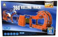 360 Rolling Racing Car Track