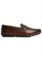 penny loafer slip on shoes brown shoe