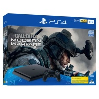 playstation 4 console call of duty modern warfare game ps4