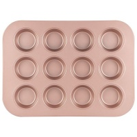 12 cup muffin pan rose gold hob