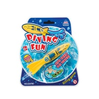 bulk pack x 2 swim play dive submarine water toy