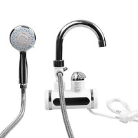 instant electric heating and water faucet bathroom