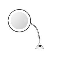 upbeat flexible suction mount mirror mirror
