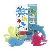 bath beans sea creatures bath toy