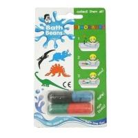 bath beans dinasours bath toy