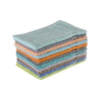 FMF 10 Pack Assorted Guest Towel 30 x 50cm