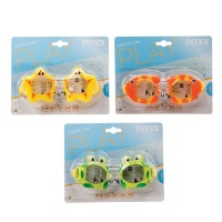 bulk pack x 3 intex fun swim goggles water toy