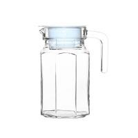 bee glass fridge jug with lid 650ml