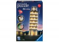 Ravensburger 180 Piece 3D Puzzle Building Pisa Night Edition