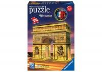 Ravensburger 216 Piece 3D Puzzle Arch of Triumph Night Edition