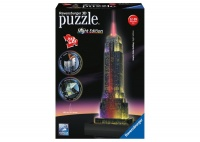 Ravensburger 216 Piece 3D Puzzle Empire State Building Night Edition