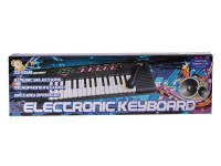 32 key electronic keyboard battery operated with microphone electronic toy