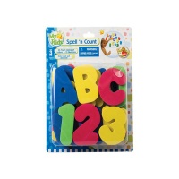 bath time eva letters and number bath toy