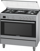bosch series 2 gas range cooker oven
