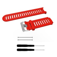 killerdeals silicone strap for garmin forerunner 910xt red accessory