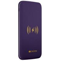 canyon li polymer power bank 8000mah wireless charger usb laptop accessory