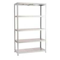 spaceo steel shelving entertainment center