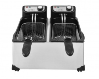 royal homeware deep fryer double 6l