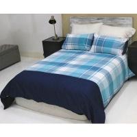 lush living home bedding set soft and snug size q se azzure duvet cover