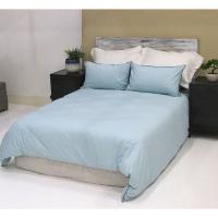 lush living home bedding set soft and snug size q se duck duvet cover