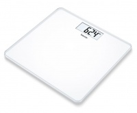 beurer white glass bathroom scale gs212 limited edition bathroom accessory