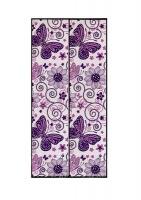 magnetic door screenpurple pattern blind