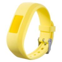 killerdeals silicone strap for garmin vivofit 3 sm yellow accessory