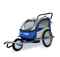 Venture Gear Childrens Trailer and Jogger 2 1 for Bicycles